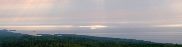 Brockway Mountain Sunset