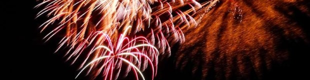 4th of July ~ Fireworks over Copper Harbor